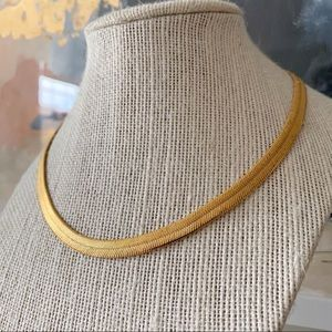 🎉5/20 SALE🎉VTG Napier herringbone chain necklace